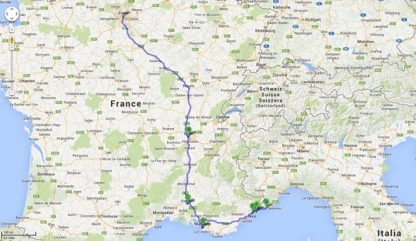 CrisTravel Globetrotting Adventures - Paris to nice